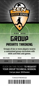 Group private training