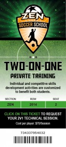 Two-on-one private training