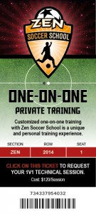 One-on-one private training